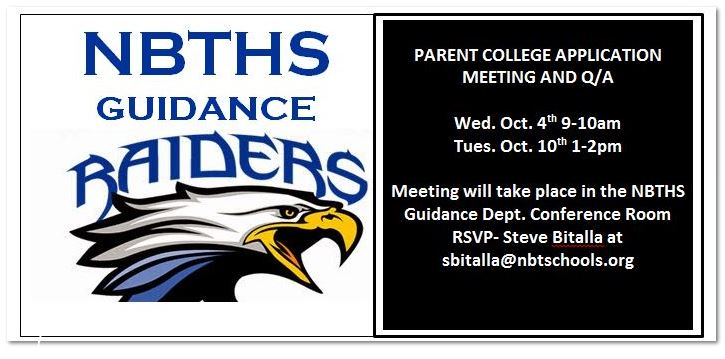 2017 College Parent Meeting