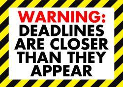 Image result for college deadlines